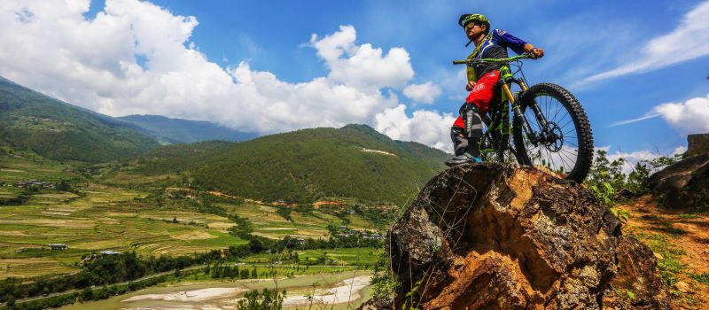 biking trip in bhutan