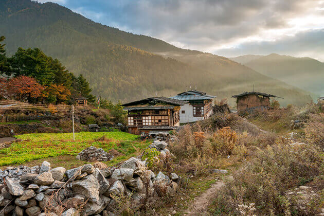 haa valley - bhutan vacation