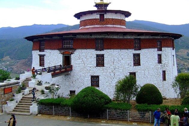 ta dzong - bhutan vacation pakages