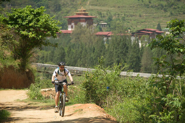 bumthang - biking tour in bhutan