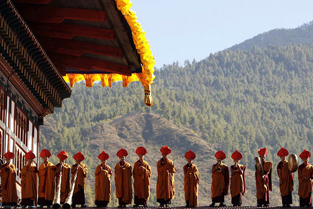 Autumn - best time of year to visit bhutan