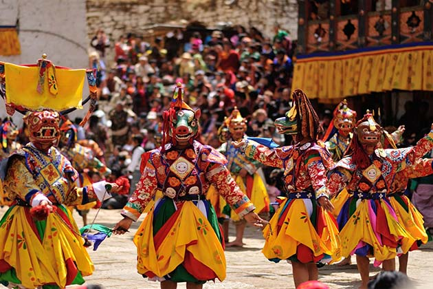 Bhutan traditional festivals