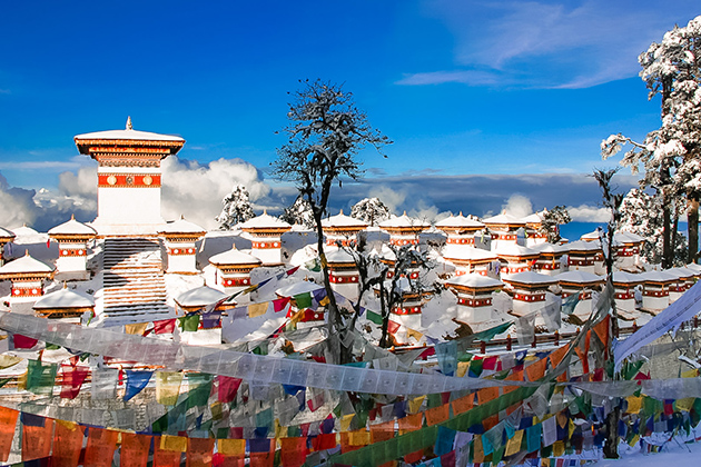 Winter - best time to visit bhutan weather