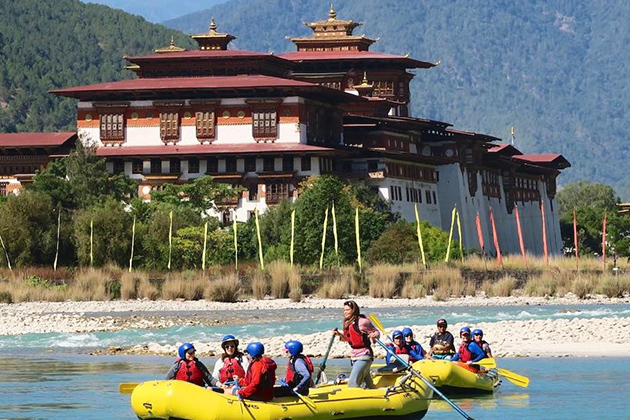 Kayaking and Rafting in Bhutan
