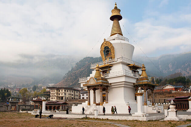 Memorial-Chorten-Bhutan-Tour Itineraries 12 days