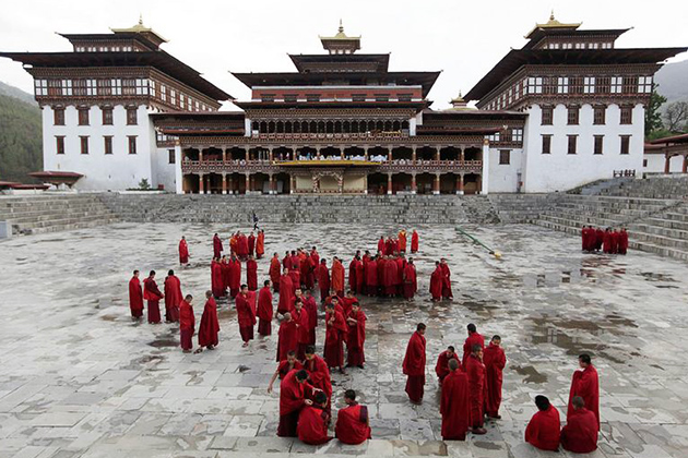 Tashichho Dzong - Thing to See Bhutan