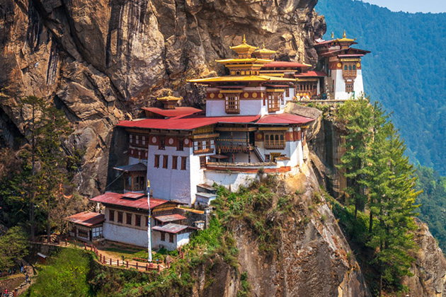 Tiger Nest Monastery - Best Place to See in Bhutan