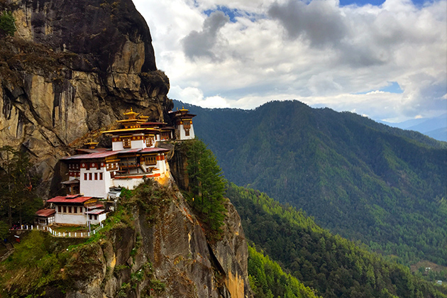 Spring - the best time to visit bhutan