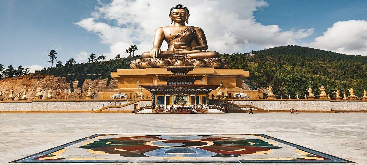 buddha statue - best time visit bhutan