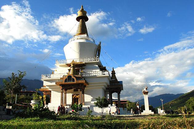 memorial chorten - things to do in bhutan