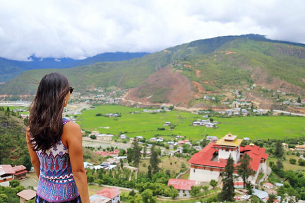 summer - best time to travel to bhutan
