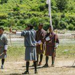 Archery Tournament Ritual in Bhutan