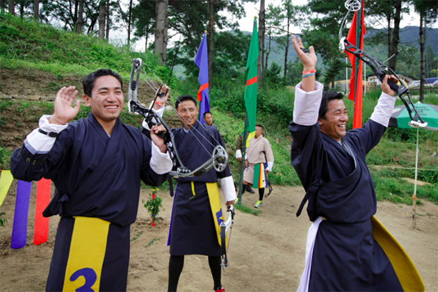 Bhutan Archery Tournament – The National Sport of Bhutan