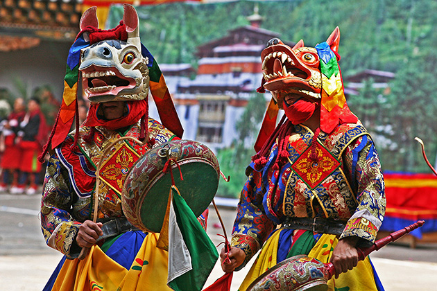 Bhutan Festivals - Top 5 Biggest Festivals Of Bhutan