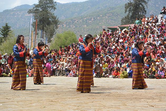 Punakha Drubchen - biggest bhutan festivals