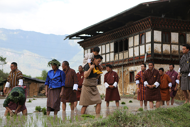 Farming Tour In Wangdue - bhutan family vacation packages