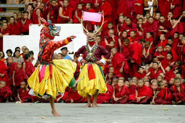 Bhutan Lifestyle - Festivals of Bhutan