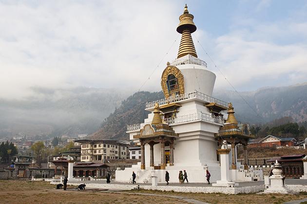 Memorial Chorten - Bhutan Tours