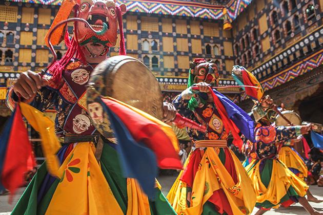 Paro Festival - Bhutan Traditional Festival