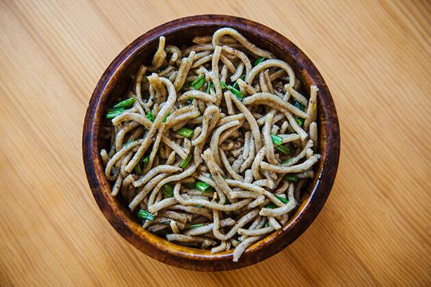 Puta is bhutan food