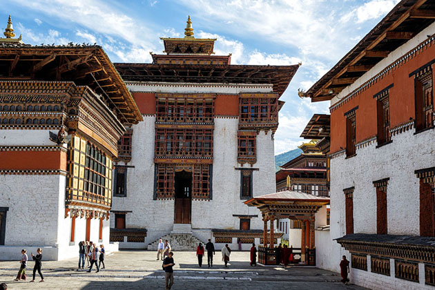 Tashichho Dzong - bhutan family tour packages