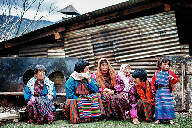 The Sharchops Ethnic Group in Bhutan