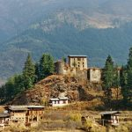 The ruins of Drugyel Dzong