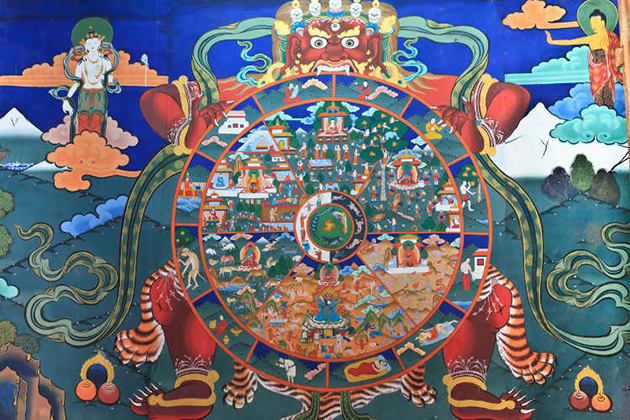 Things to Buy in Bhutan - Buddhist Paintings