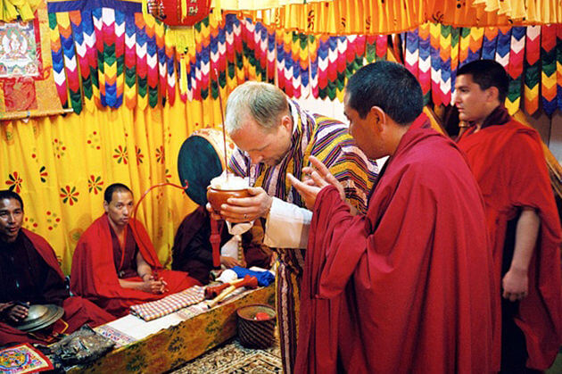 Thrisor ritual - bhutan marriage