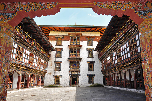 Trashigang Dzong - bhutan off beaten track tour