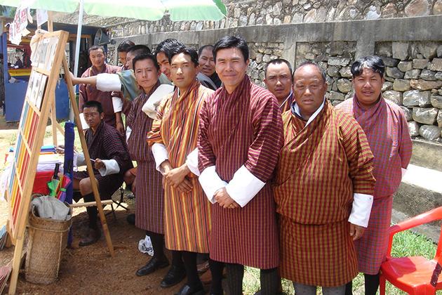 Uniform For People Attending Bhutan Archery Tournament