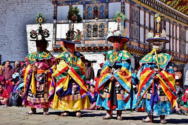 Bhutan Public Holidays in spring