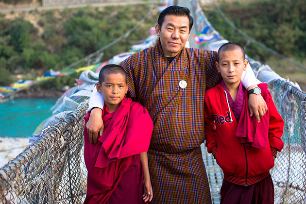 Bhutan people believe in Buddhism