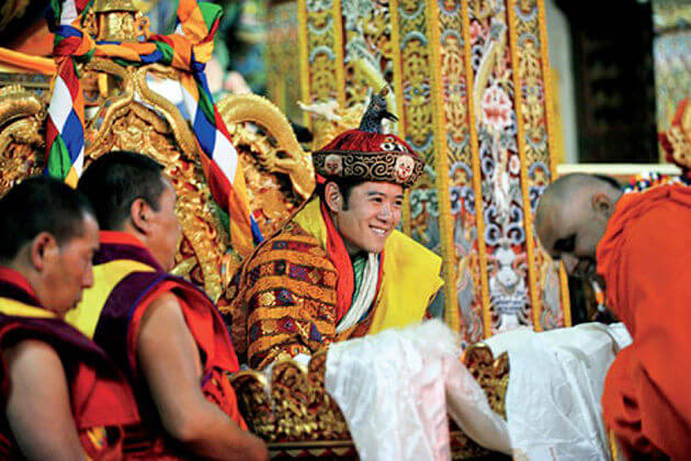 Birth of Fifth King - holidays in bhutan