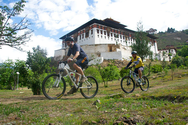Cycling in Bhutan -biking tour in bhutan