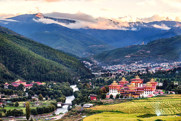 Where Bhutan People Live is So Gorgeous