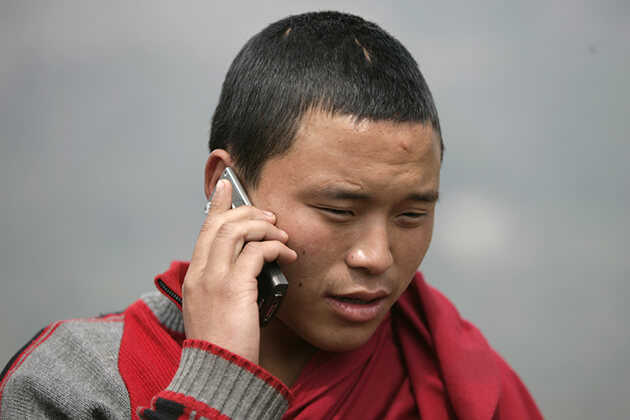 bhutan sim card cost
