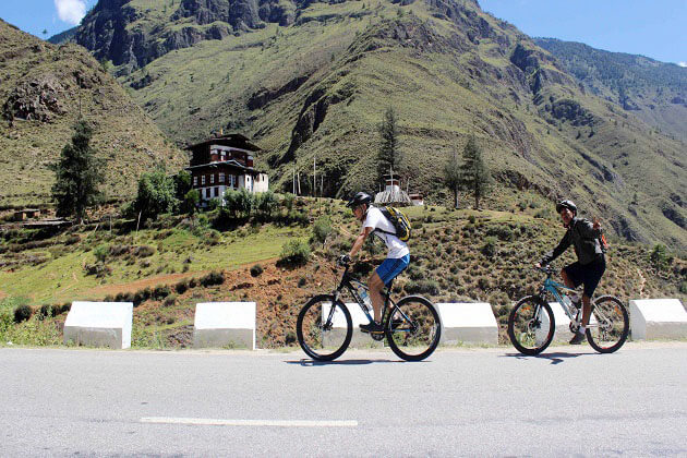 ura valley - bhutan mountain biking tour
