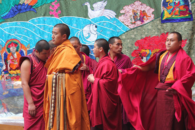 Monks - bhutanese buddhist beliefs