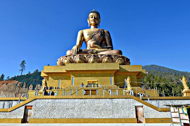 bhutan buddha statue - Bhutan buddhism