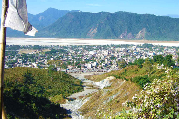 Phuentsholing Viewpoint - best sightseeing Phuentsholing