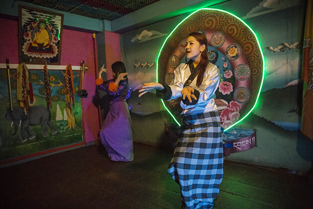 Tashi Tagay Drayang bhutan bar is not red light area