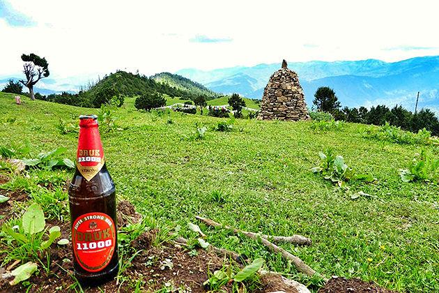 druk 11000 bhutan beer