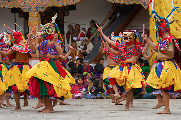 Bhutan Losar - New Year in Bhutan