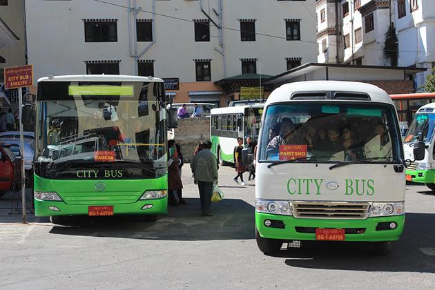 Bhutan Public Bus