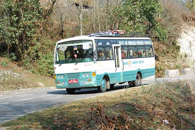 Bus services in Eastern Bhutan