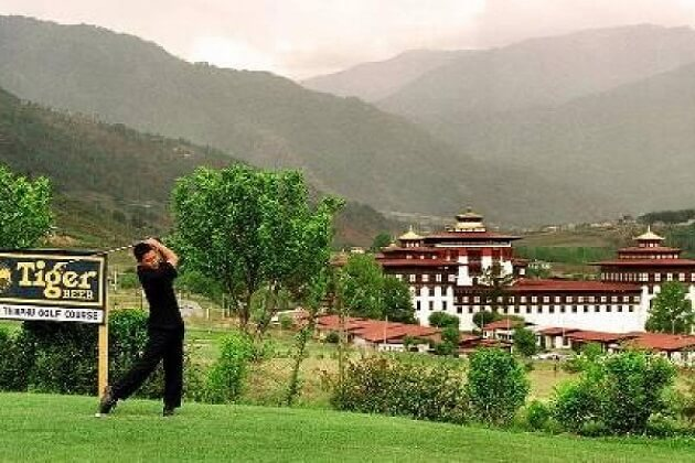 Golf bhutan