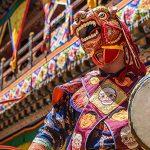 Bhutan festival tours - 6 day Paro festival