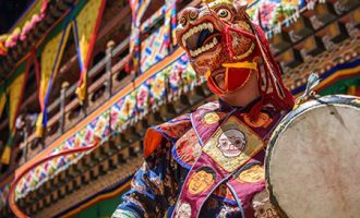 festival in Paro bhutan vacation packages