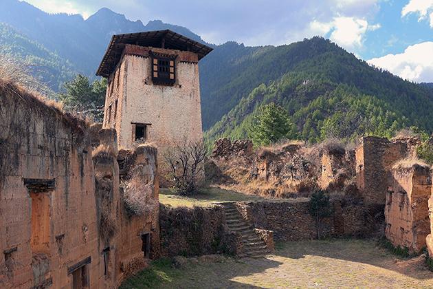 Incredible Ruin of Drukgyel Dzong - UNESCO World Heritage